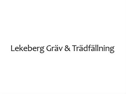 LEKEBERGS GRÄV OCH TRÄDFÄLLNING